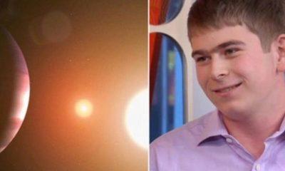 Tiene 17 años y en su tercer día de práctica en la NASA descubrió un planeta