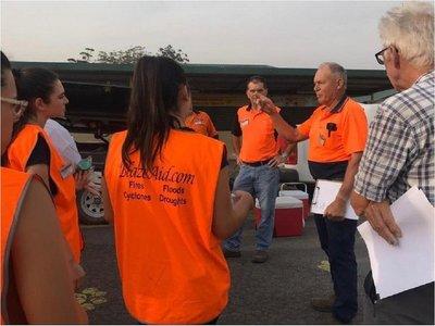 Paraguayas se unen a la lucha contra los incendios en Australia