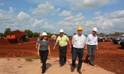Empiezan trabajos para construcción de nuevo penal en Minga Guazú