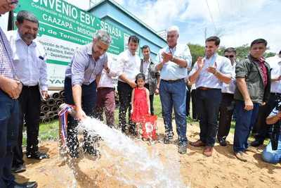 Yabebyry recibe importantes inversiones del Gobierno promover su desarrollo
