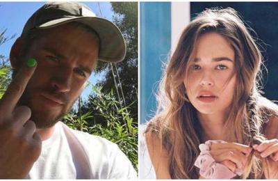 Confirman la relación de Liam Hemsworth con la modelo Gabriella Brooks