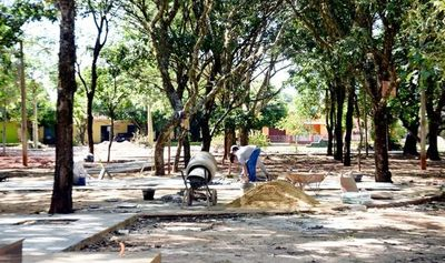 Expo Caazapá, suspendida por remodelación de plaza