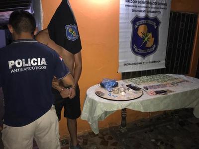 Tras allanamiento incautan cocaína en Concepción