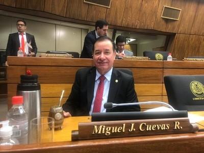 Se posterga audiencia de imposición de medidas cautelares de Miguel Cuevas
