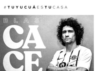 HOY / Libertad renueva el contrato de Blas Cáceres