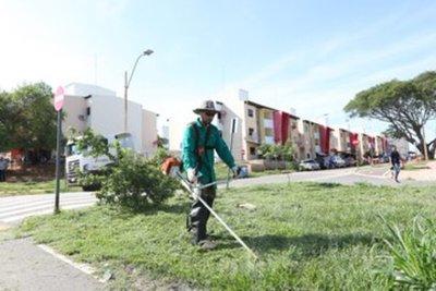 Gobierno organiza mingas ambientales en el departamento Central