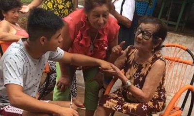 Abuelita cumple 96 años
