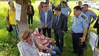 Familiares de secuestrados se reúnen el con Ministro del Interior