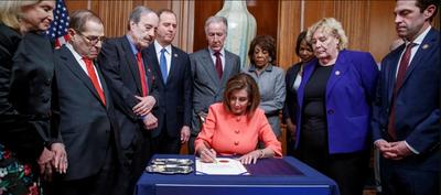EEUU: la Cámara de Representantes elevó al Senado el proceso de juicio político a Trump