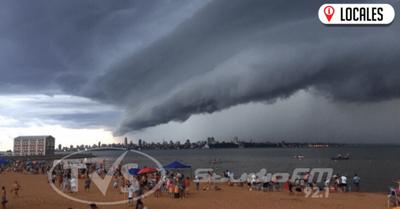 Meteorología anuncia un día caluroso y con precipitaciones