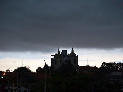 Meteorología emite alerta de tormentas para el Sur del país