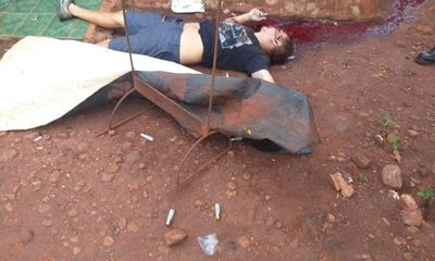 Matan a brasileño en Itakyry