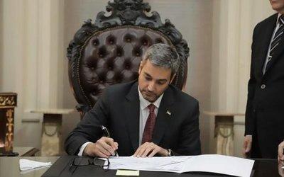Mandatario reglamentó ley que habilita la ejecución del Presupuesto 2020