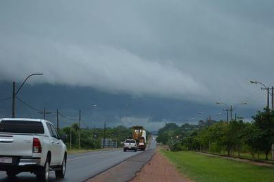 Ocho departamentos serían afectados por tormentas esta tarde