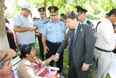El Gobierno ratifica acompañamiento a familiares de policía secuestrado