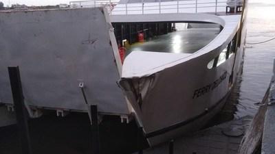 Ferry del Chaco sufre desperfecto y estará inactivo por un tiempo