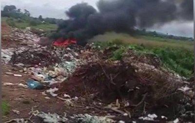 Vertedero Municipal en Abaí preocupa a pobladores