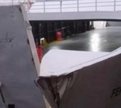 A 10 días de servicio, ferry presentó su primer problema