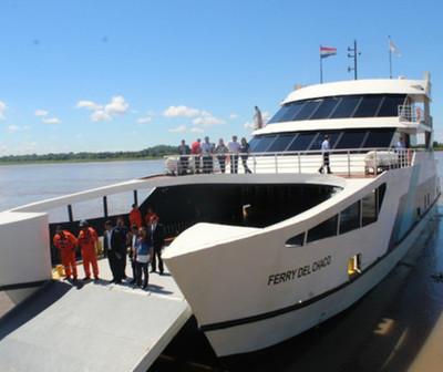 Increíble: chocan al Ferry del Chaco y suspenden el servicio