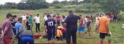 Aparatoso accidente en Carapeguá