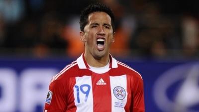 """Lucas Barrios: """"Sería lindo jugar en Paraguay"""""""