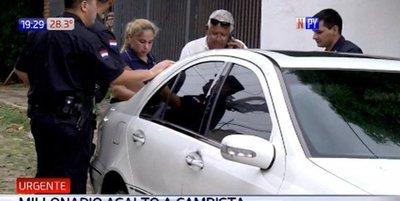 Millonario asalto a cambista en Lambaré