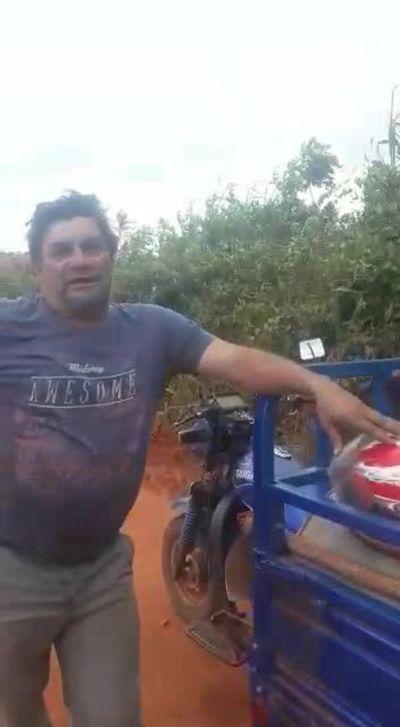 Ocupante de tierras en Caaguzú relata que perdió G. 600.000, engañado por dirigentes
