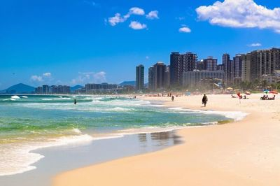 Un paraguayo muere ahogado en una playa de Río de Janeiro
