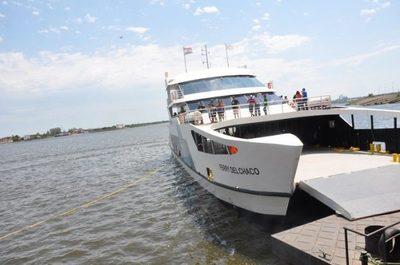 El Ferry del Chaco retoma sus viajes sobre el río Paraguay