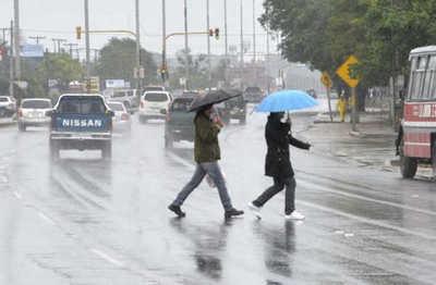 Viernes caluroso con posibles lluvias
