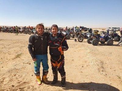 Sanabria y Zapag completaron los casi 8 mil kilómetros del Dakar