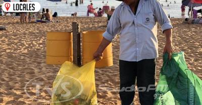 Ciudadanos reactivan la campaña de limpieza en las playas de Encarnación
