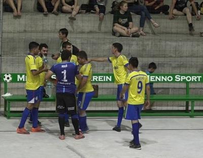 Sevilla y Ranger treparon hasta la cima del torneo de Futsal del Deportivo Menno