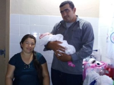 Mujer da a luz a una beba de 5 kilos en Misiones