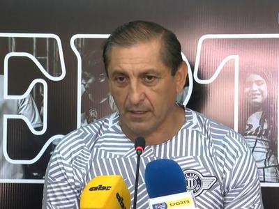 """""""Al equipo lo veo muy bien"""", dice el Pelado Díaz"""
