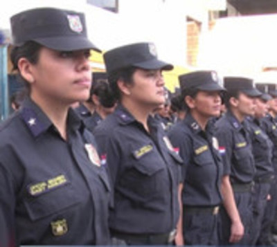 Mujeres policía buscan ser Linces