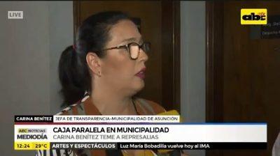 Exdirectora que denunció cajas paralelas afirma sufrir amenazas