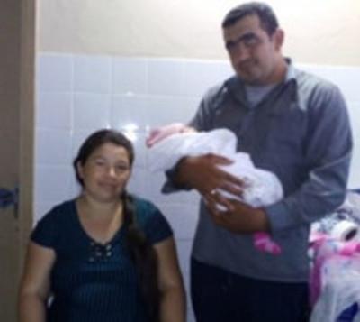 Nació bebé de 5 kilos en Misiones
