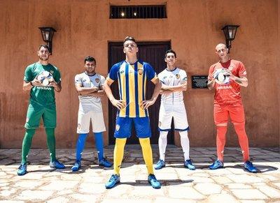 Sportivo Luqueño presenta sus nuevas camisetas