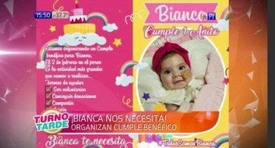 ¡Todos por Bianca! Festejará su primer añito de manera especial