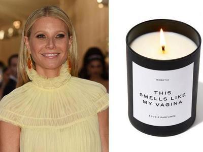 """Gwyneth Paltrow lanzó a la venta una vela que """"huele como su vagina"""" y agotó el stock"""