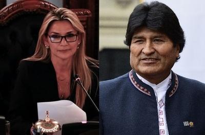 """Áñez califica a Evo Morales como una persona """"violenta"""" y """"enloquecida"""""""