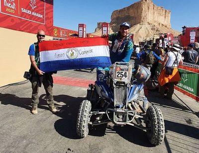 Dos paraguayos dejan su sello en Dakar 2020