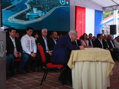 Construcción de defensa costera de Pilar: 'todos soñamos siempre con lo que hoy es una realidad'- Sen. Víctor Ríos