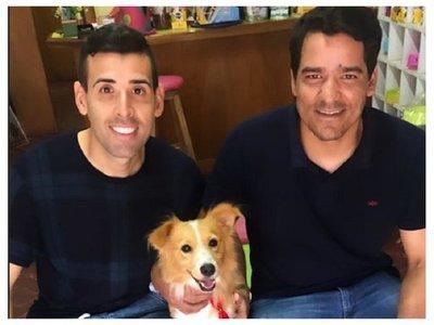 """Se tomó una foto con el perrito y le dijeron """"figureti"""""""
