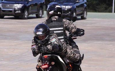 Agentes del Grupo Lince resultan heridos en persecución