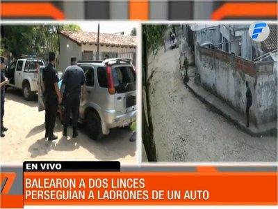Videos muestran persecución y disparos contra agentes del Grupo Lince