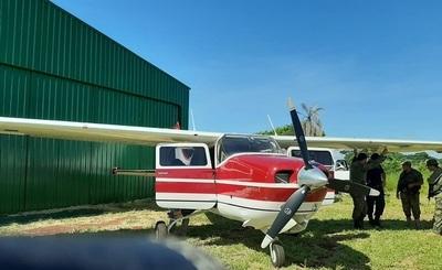 Incautan una avioneta con cocaína en Amambay