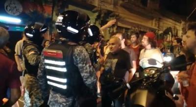Denuncian actuar violento de Linces en centro cultural La Chispa