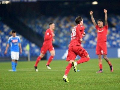 El Napoli se hunde ante el Fiorentina y lleva 4 derrotas seguidas en casa